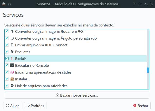 SERVIÇO_config
